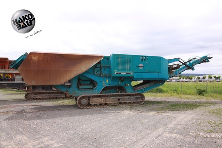 Backenbrecher, Powerscreen
